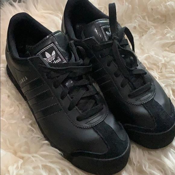 Adidas Samoa Allblack Shoes Sneakers